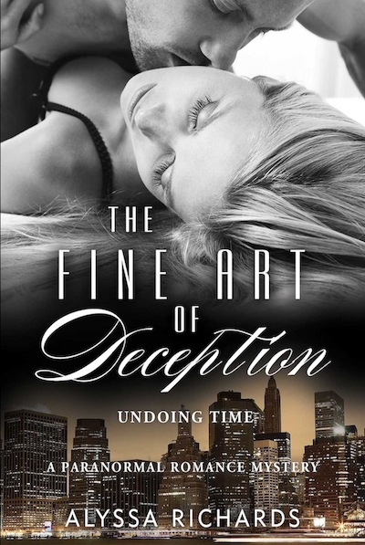The Fine Art of Deception Book Cover - Alyssa Richards (Paranormal Romance Books)
