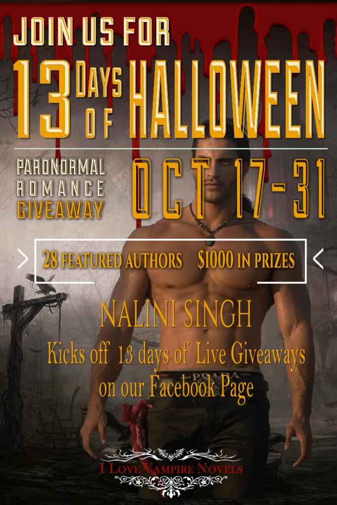 13 Days of Halloween Giveaway - Alyssa Richards