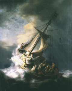 Rembrandt's   Storm of Galilee